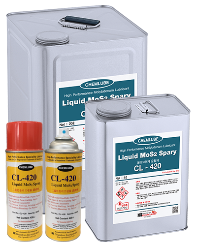 Liquid MoS2 Spray CL-420